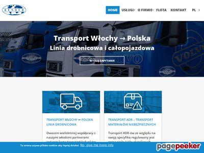 Render - Transport międzynarodowy