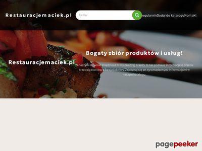 """Restauracja """"Maciek"""" Łódź"""