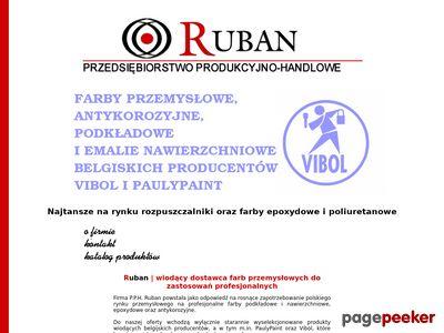 P.P.H. RUBAN- Farby alkidowe,