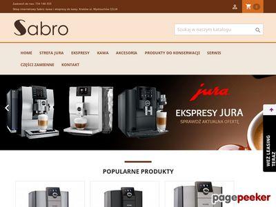 Ekspresy do kawy Jura | http://www.sabro.com.pl/