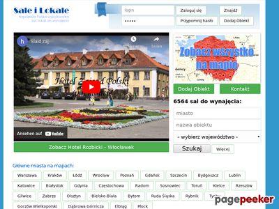 Saleilokale.pl - Bazowyszukiarka sal