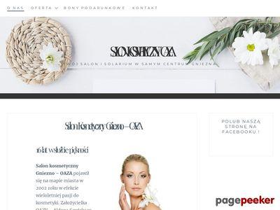 Salon kosmetyczny Gniezno - OAZA
