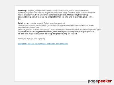 Sauna Warszawa