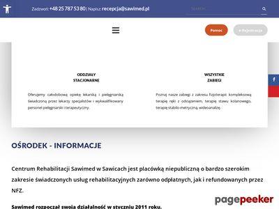 Skuteczna rehabilitacja - Sawimed.pl