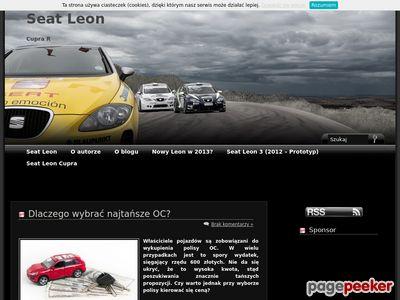 Seat Leon Cupra - Blog informacyjny
