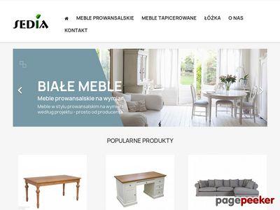 Producent krzesł, stołów, łóżek z litego drewna
