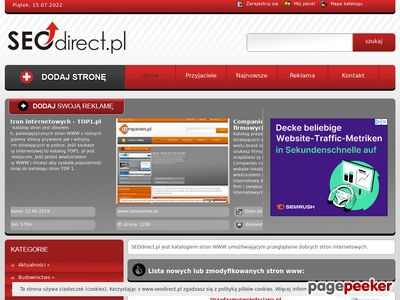 Seo katalog stron - www.seodirect.pl