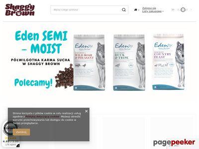 ShaggyBrown.pl - Internetowy Sklep Zoologiczny