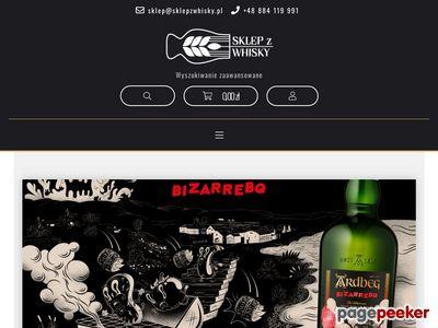 Sklepzwhisky.pl - sklep online z whisky, winami, cygarami
