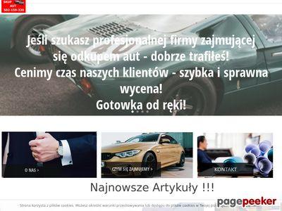 Skup Aut Poznań i okolice ☆☆ Zlomowanie Aut Poznań ¤•