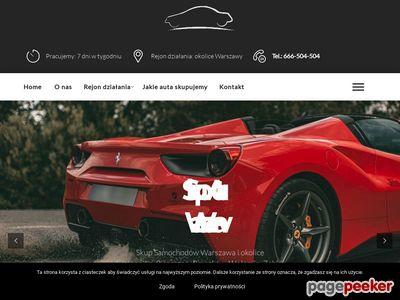 Skup aut Warszawa Mokotów, Praga, Ursynów, Bielany, Białołęka