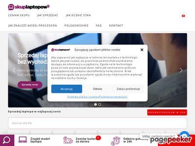 Skup laptopów, skup komputerów - Sprzedaj Laptopa