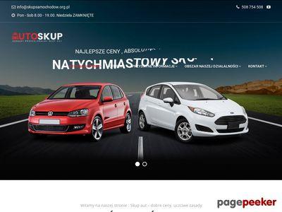 Skup samochodow za gotowke Śląsk Małopolska