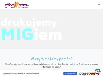 Reklama Słupsk. Agencja reklamowa Effect Team