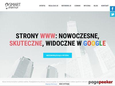 strony internetowe kraków u smartprojects.pl
