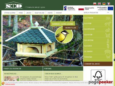 SOD - producent budek lęgowych oraz akcesoriów dla gryzoni