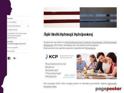 Psycholog Psychoterapeuta Katowice
