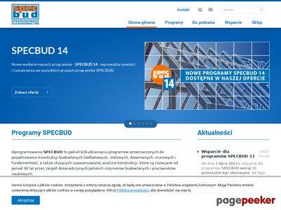 SPECBUD Oprogramowanie dla budownictwa