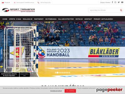 Wyposażenie sportowe - Sport-transfer.com.pl