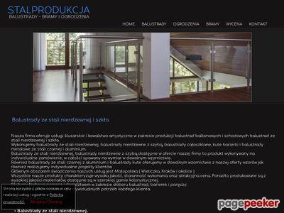 Balustrady nierdzewne Kraków – Stalprodukcja