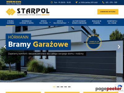 Bramy garażowe i napędy do bram Łódź