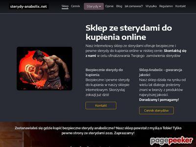Kup Sterydy, Sterydy Online, sklep ze sterydami