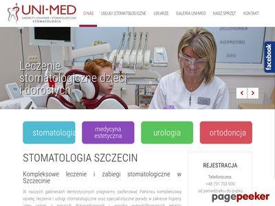 UNI-MED Stomatolg Szczecin gabinet stomatologiczny w Szczecinie