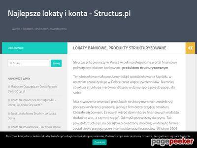 Lokata strukturyzowana - info