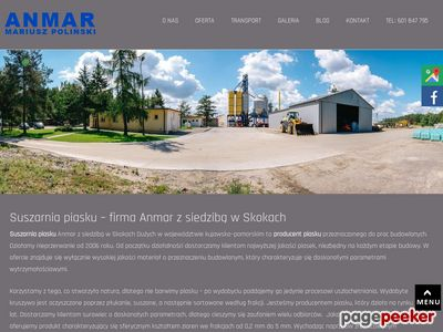 ANMAR producent piasku budowlanego