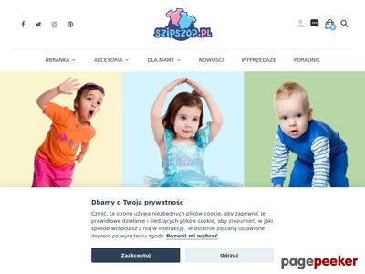 Ubranka dla niemowląt sklep internetowy