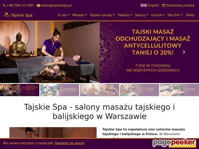 Thai Massage - TajskieSpa.pl