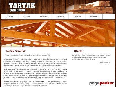 Tartakszrensk.pl drewno budowlane