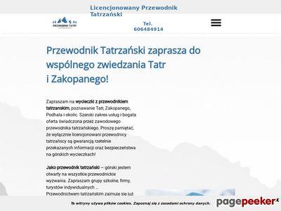 Przewodnik tatrzański - górski