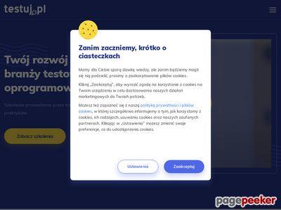 Testy aplikacji