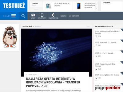 testuJEZ.pl - rankingi smartfonów i telefonów