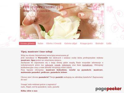 Wzorki na paznokcie Warszawa