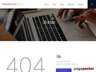 http://www.tlumaczymydlabiznesu.com/pl/