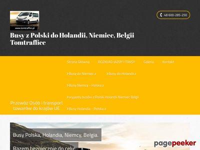 Tomtrafficc.pl - busy z Polski do Holandii