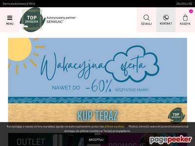 www.topdrogeria.pl - Szeroki wybór kosmetyków online
