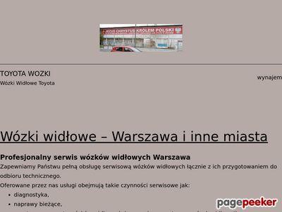 Wózki Widłowe toyota Małopolska