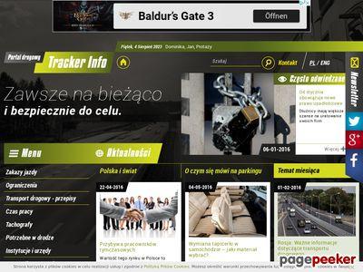 Portal Drogowy TrackerINFO