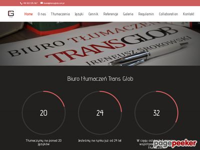 Biuro tłumaczeń TRANS GLOB