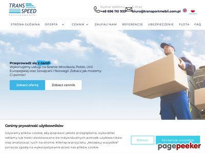 Usługi przeprowadzkowe Wrocław