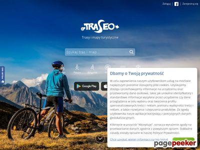 Trasy rowerowe GPS