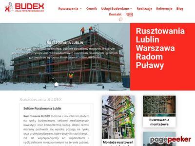 Montaż i wynajmem Rusztowań Lublin