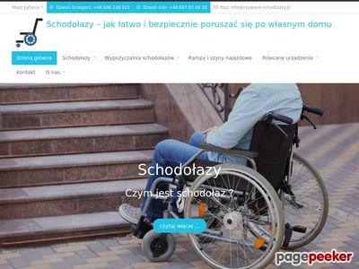 Schodołazy dla niepełnosprawnych oraz osób starszych