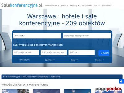 Sale konferencyjne Warszawa