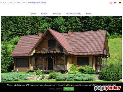 Wasco - domy z bali