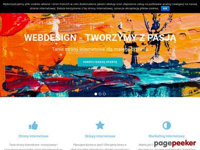 Tanie strony www i sklepy internetowe