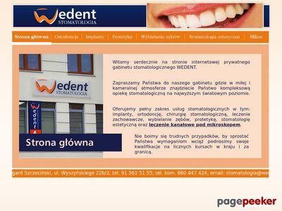 Stomatolog, Dentyst, Stargard Szczeciński WEDENT